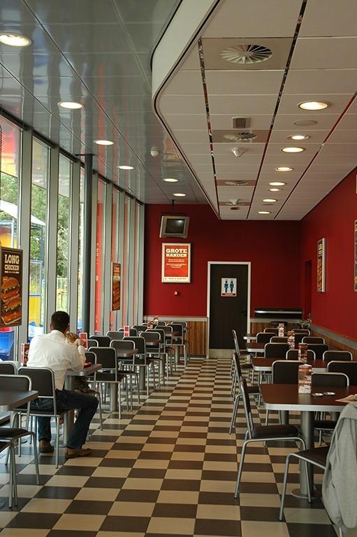 Burgerking drive through, Wormerland